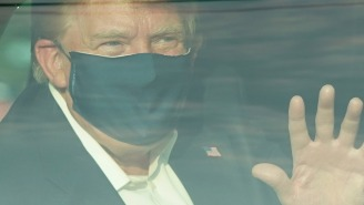 Walter Reed Attending Physician Calls Trump's Drive-By Greeting Of Supporters 'Insanity'; Secret Service Agents Not Happy