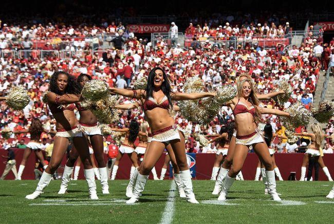 Washington Cheerleader Lawsuit