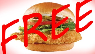 PSA: Wendy's Is Giving Away Their New Chicken Sandwich For Free Through November 8