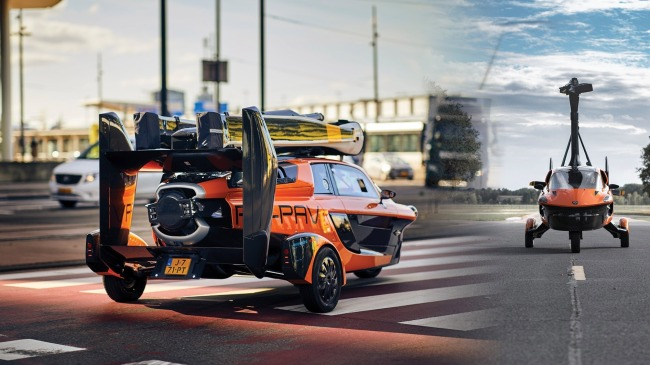 Worlds First Flying Car PAL-V Liberty Is Now Street-Legal In Europe