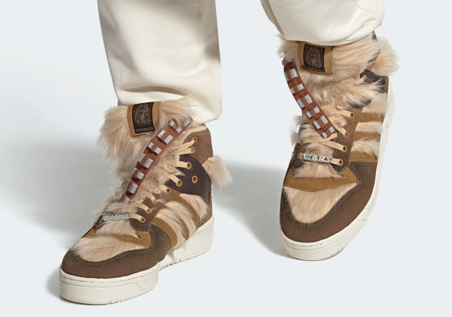 Adidas x Chewbacca Sneakers – Brown Fur Kicks To Celebrate Everyone's Favorite Wookie