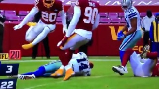 Washington's Jon Bostic Ejected After He Knocked Andy Dalton Out Cold With Dirty Hit To The Head
