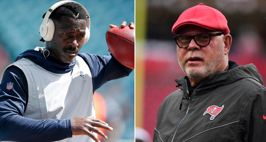 Old tweet of Antonio Brown bashing Bruce Arians resurfaces just as Bucs sign him - cover