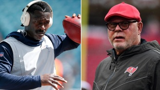 Old Tweet Of Antonio Brown Bashing Bucs Head Coach Bruce Arians Resurfaces After He Signs With Tampa Bay