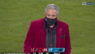 Falcons Owner Arthur Blank Gets Roasted Over Red Velvet Jacket He Wore On 'Thursday Night Football'