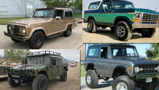 10 Of The Best Vintage SUVs For Sale Online This Week