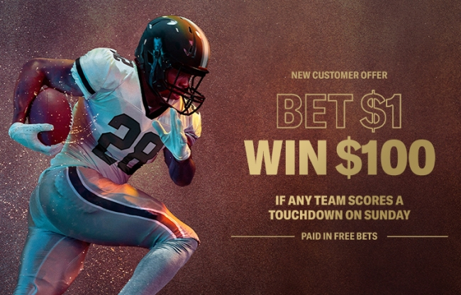 Hold Everything: BetMGM's Giving Away $100 On A $1 Bet If ANY NFL Team Scores A TD During Sunday's Week 5 Games