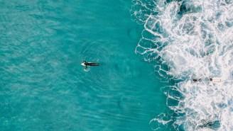 Drone Captures Aussie Pro Surfer Matt Wilkinson's Terrifying Close Encounter With A Shark
