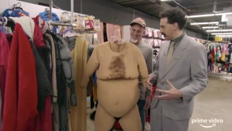 The First Full Trailer For The Insanely-Titled 'Borat' Sequel Is Here