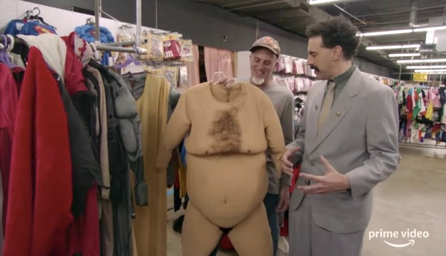 """Sasha Baron Cohen Says He Was """"Fortunate"""" To Make It Out Of A 'Borat 2' Scene """"In One Piece"""""""