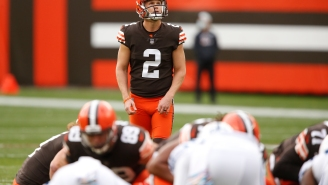 Browns Kicker Cody Parkey's Missed PAT In Final Seconds Really Messed Things Up For Sports Gamblers