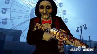 Leatherface And Billy The Puppet Stalk Their Prey In Call Of Duty: Warzone's 'Haunting Of Verdansk' Trailer