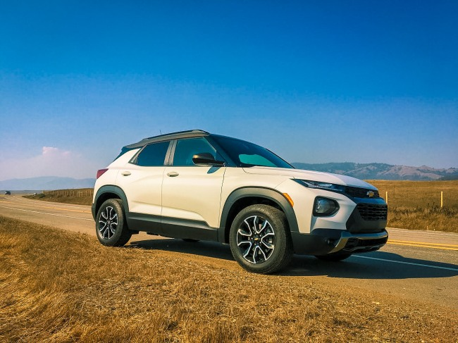 2021 Chevy Trailblazer Activ Review: Searching for the Wild Zebras of California