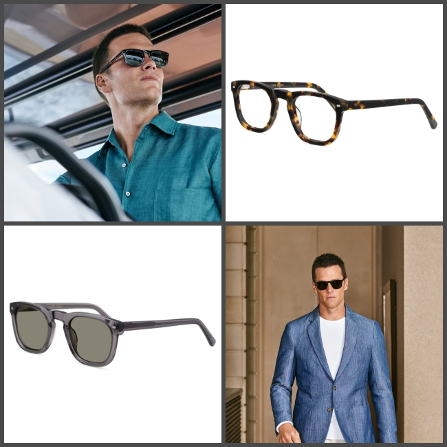 Tom Brady partners with Christopher Cloos Sunglasses on an exclusive collection