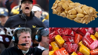 Here's Which Halloween Candy Best Describes College Football's Most Notable Coaches