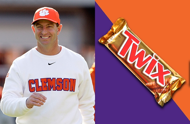 college football coaches as halloween candy