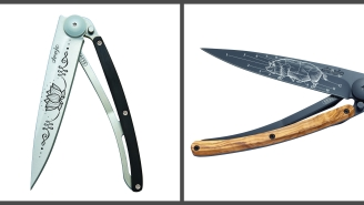 Boost Your Everyday Carry With New Original Blade Tattoos From Deejo Knives For The Chef, Hunter And Outdoorsmen In Your Life