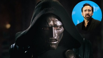 Nic Cage Was Originally Cast As Doctor Doom In The Old 'Fantastic Four' Franchise