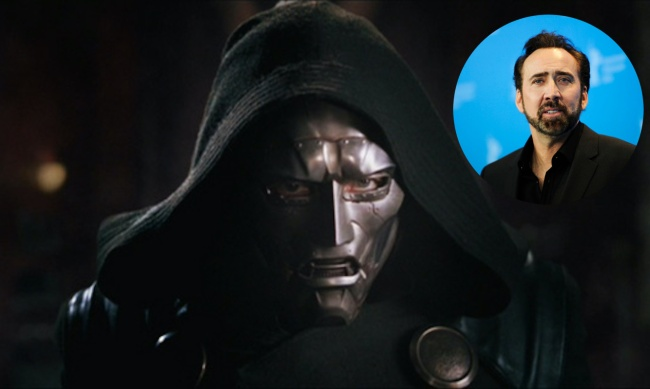 doctor doom and nic cage