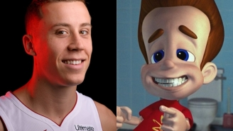 Duncan Robinson Says The Lakers Bench Kept Calling Him 'Jimmy Neutron' During The NBA Finals Which Is A Truly Phenomenal Taunt