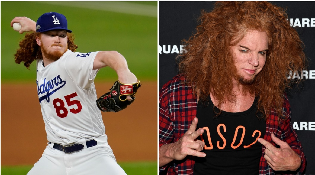 Dodgers Pitcher Dustin May Gets Lit Up In Game 2 Of World Series And Baseball Fans Trolled Him With Carrot Top Jokes