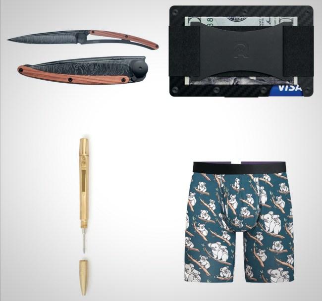 everyday carry essentials weekender