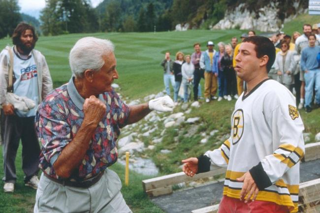 Adam Sandler revealed that Bob Barker was not his first choice in Happy Gilmore, he wanted Ed McMahon for the golf fight where Happy Gilmore won.
