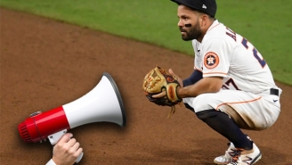 The Hero Who Taunted The Astros From A Balcony Bought A $200 Megaphone After Using An Equation To Calculate Exactly How Loud He Needed To Be