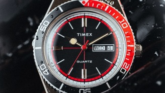 The Limited-Edition Timex 'Cola' Sport Watch Is An Affordable Throwback To Classic