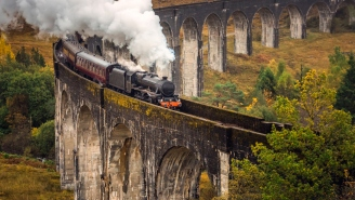 I Cannot Stop Maniacally Laughing At These Sad 'Harry Potter' Fans Who Waited For Hours To See A Train And Got Dunked On