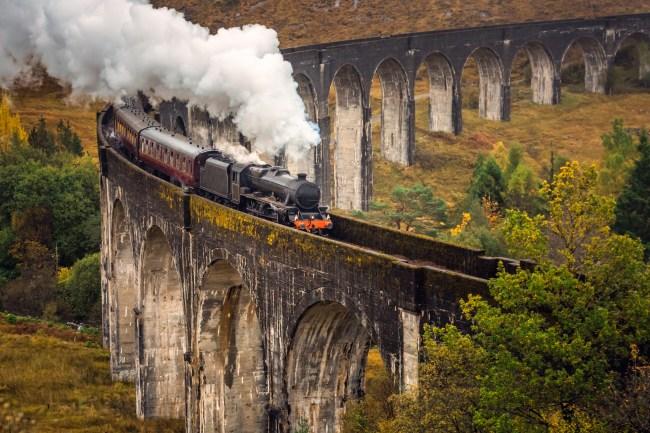 Hogwart's Express Steam Engine