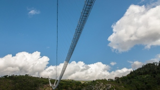 The World's Largest Pedestrian Suspension Bridge Is About To Open And I'm Going To Need A Handful Of Edibles Before Walking Over This