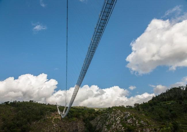 516 Arouca world's longest pedestrian suspension bridge