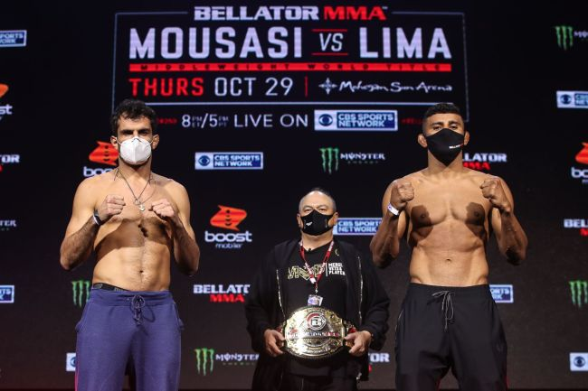 Bellator 250: Mousasi vs. Lima on CBS Sports Network