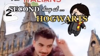 They Should Shut Down TikTok Because This 'Italians At Hogwarts' Video Will Never Be Topped