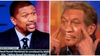 Jalen Rose Opens Up About Infamously Dunking On Skip Bayless On National TV For Playing JV As A Junior