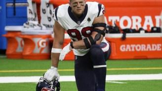 J.J. Watt's Cryptic Tweet Has NFL Fans Convinced It's His Parting Shot At Fired Texans Coach Bill O'Brien