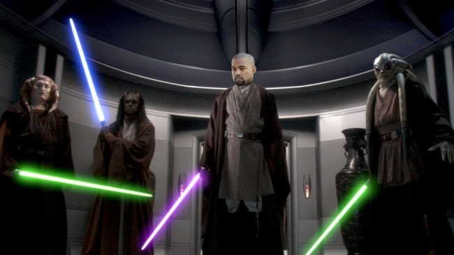 Kanye West Has An Unsurprisingly Awful Opinion About The 'Star Wars' Franchise