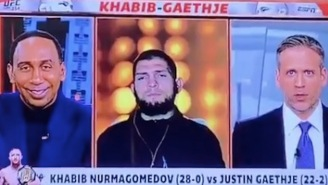 Khabib Nurmagomedov Went Full Stone-Cold Killer When Asked About Conor McGregor On 'First Take'