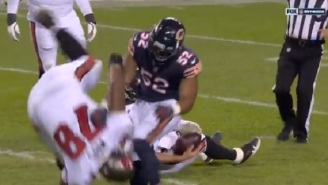 Bears' Khalil Mack Casually Flips 300-Pound Bucs OL Tristan Wirfs Like Nothing
