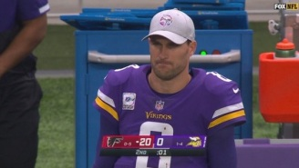 Kirk Cousins Gets Roasted By NFL Fans After Throwing Three Interceptions In First Half Vs Falcons
