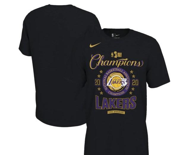 Lakers Championship Merch