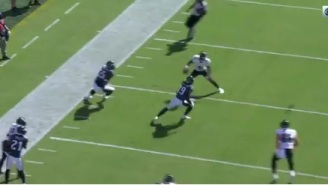 Lamar Jackson Crossed Up Eagles Defenders With Nasty Juke Move, Throws Absurd Touchdown Pass