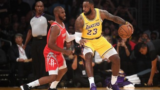 NBA Execs See LeBron James Using His Influence To Get Chris Paul To The Lakers This Offseason