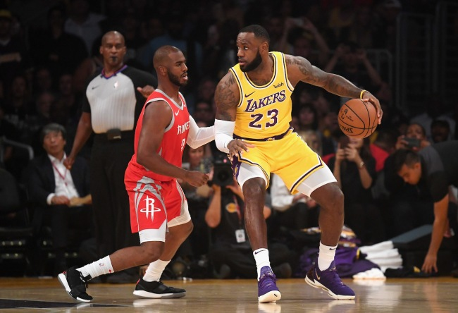 NBA execs think LeBron James will use his influence on Lakers' front office to force a Chris Paul trade this offseason