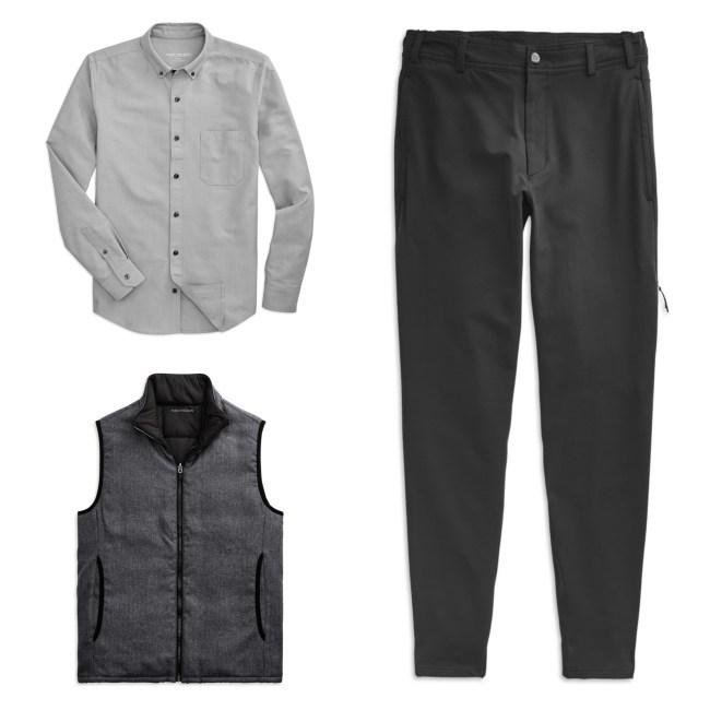 Mack Weldon Shirt Vest Pants