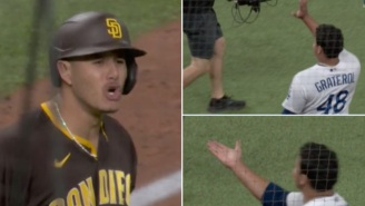 Padres' Manny Machado Gets Heated And Threatens To Fight Dodgers' Brusdar Graterol For Blowing A Kiss At Him 'I'll Be Waiting For You'