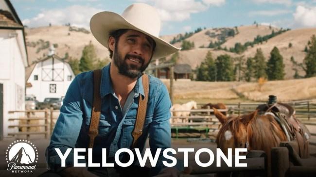 Ryan Bingham Yellowstone