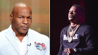 Things Get Extremely Awkward When Mike Tyson Presses Rapper Boosie About His Past Controversial Comments