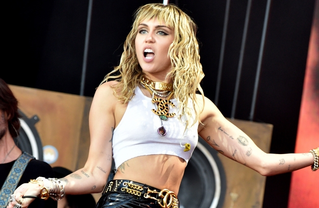 miley cyrus is good now